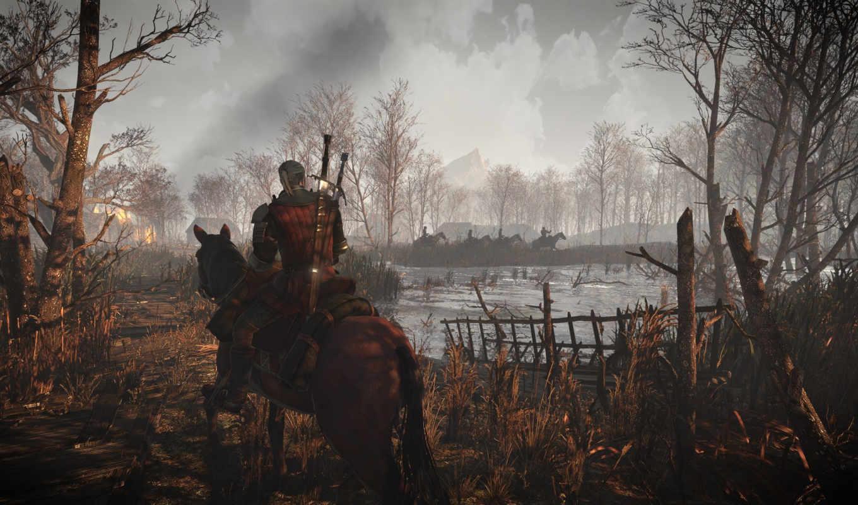 ведьмак, wild, hunt, hunting, скриншоты, дикая,