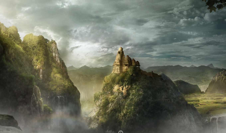 kingdom, this, гора,