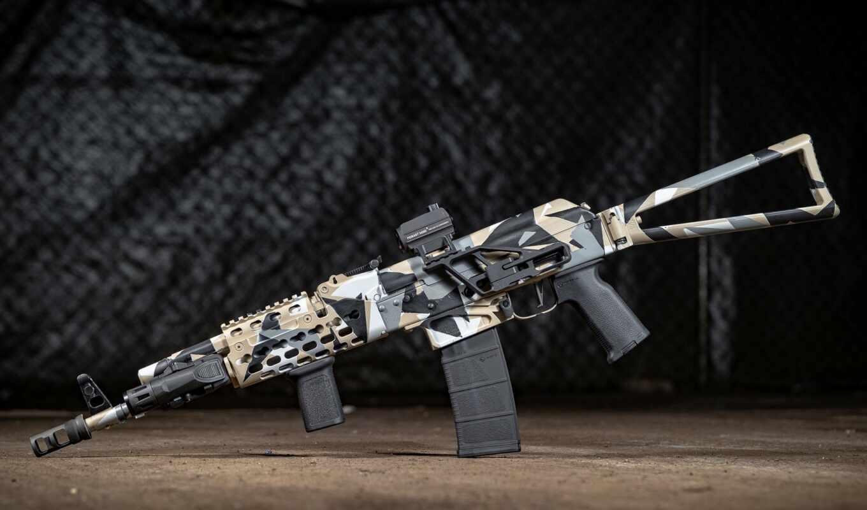 custom, оружие, калашников, винтовка, ак, assault