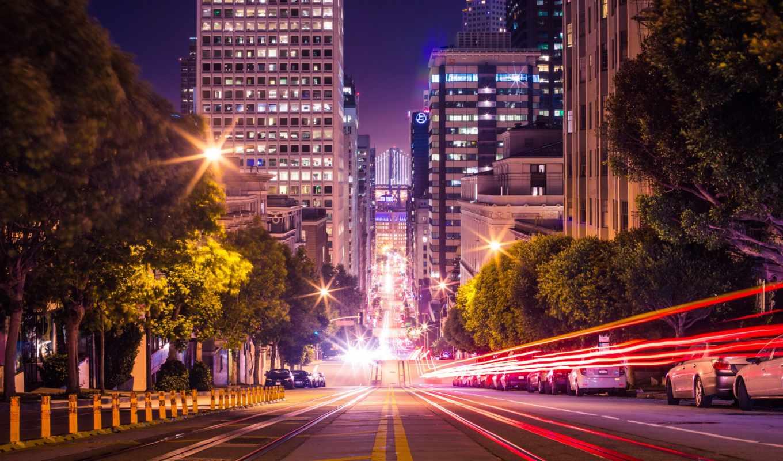 улица, california, san, francisco, connectel, car, datum, помощь