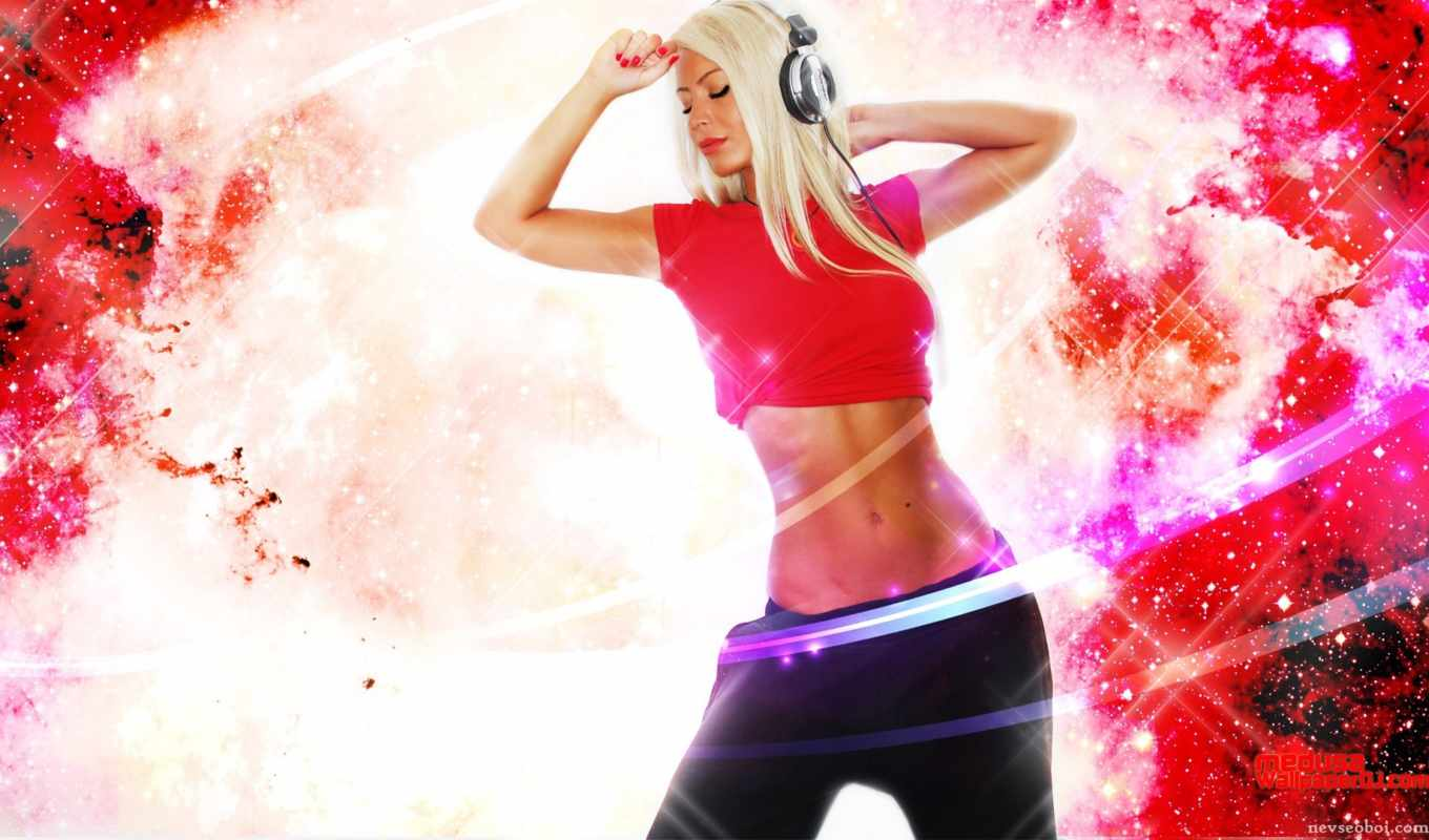 are, girl, what, feel, blonde, dancing, with, resolution, desktop, headphones, hot, stars, among, showing,