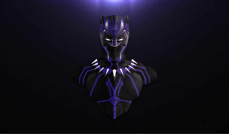 desktop, black, черная, artwork, бесконечность, panther,