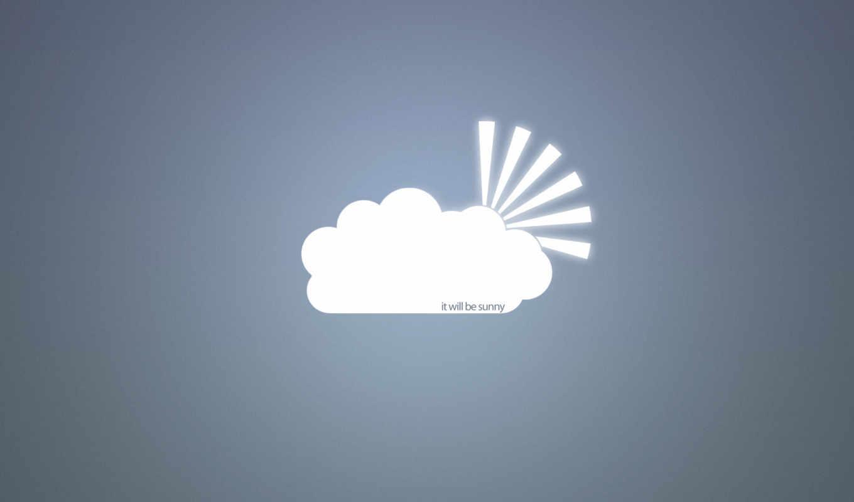 минимализм, арт, вектор, креатив, лучи, облака, надпись, солнце, картинка, картинку,