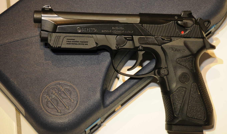 beretta, two, оружие, weapons, guns, картинка, берета, пистолет, картинку, мыши, кнопкой,