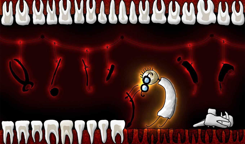 зубы, медицина, садист, выдирает, страшными, зубной,