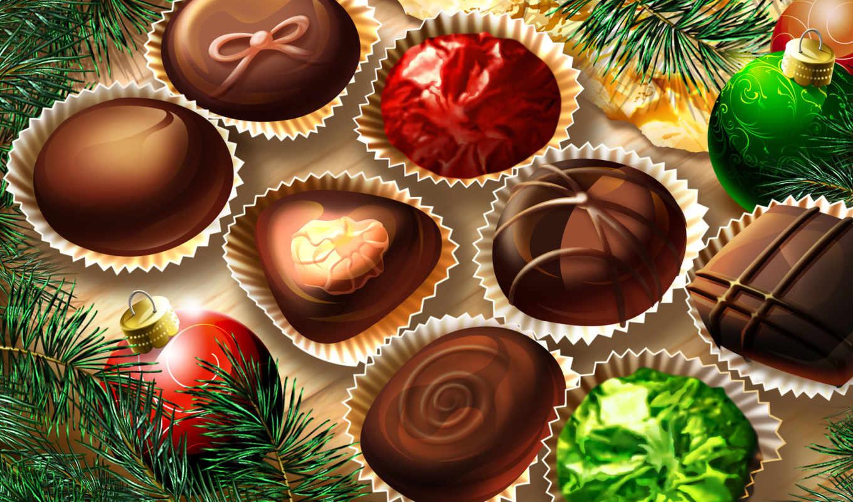 год, new, сувениры, года, конфеты,