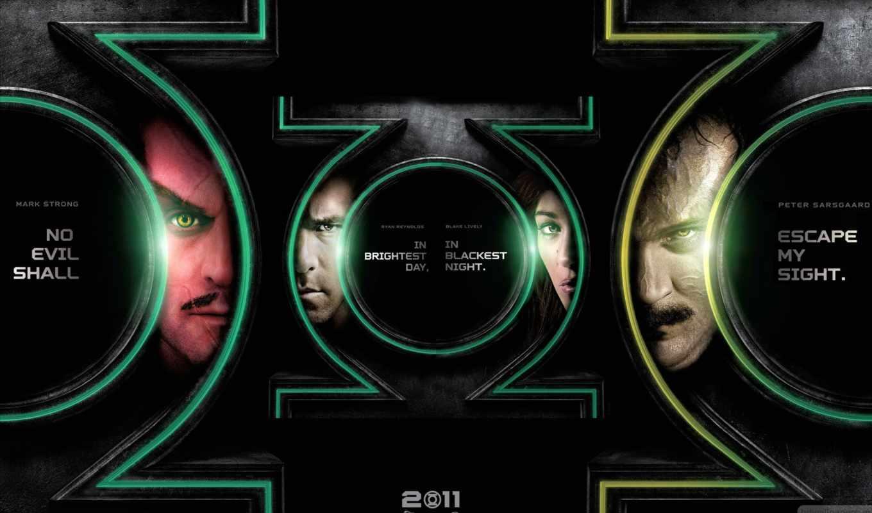 зелёный, lantern, movie,
