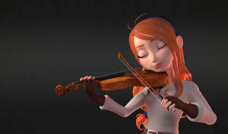скрипка, барокко