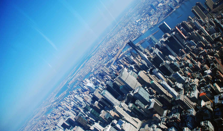 нью, york, небоскрёб, new, город,
