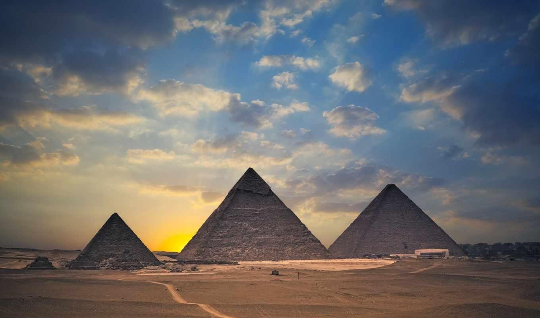 egypt, pyramids, desktop, famous, giza,