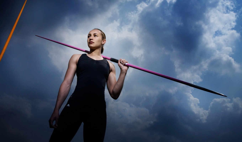 атлетика, спорт, легкая, ennis, jessica, картинку,
