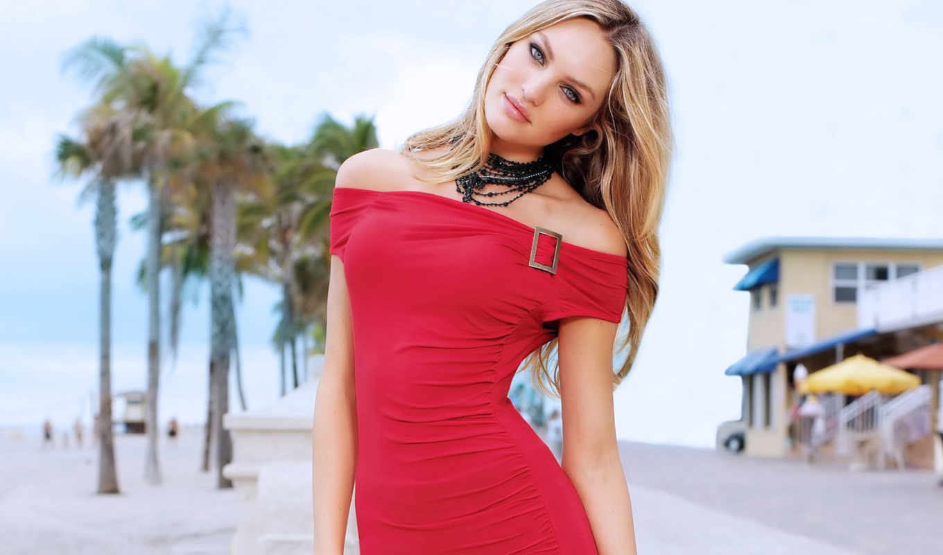 swanepoel, candice, girls, sexy, pack, dress, women, red, model, blondes, necklaces,