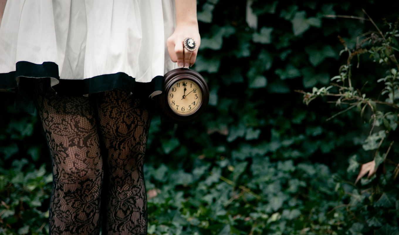 ноги, девушка, часы,