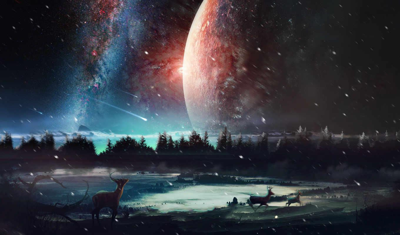 cosmos, desktopography, планеты, красивые, planet, dreamworld, космоса, экзопланеты,