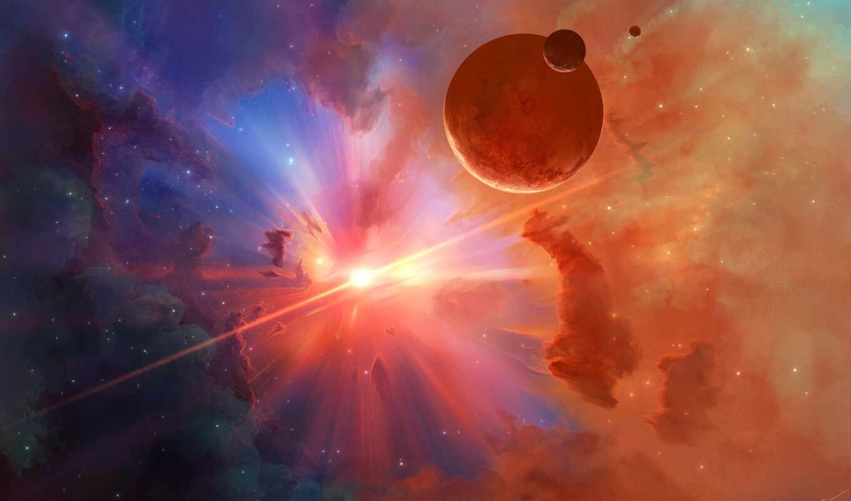 космос, star, planet, galaxy, свет, заставка, wide, тематика, nebula, cosmo