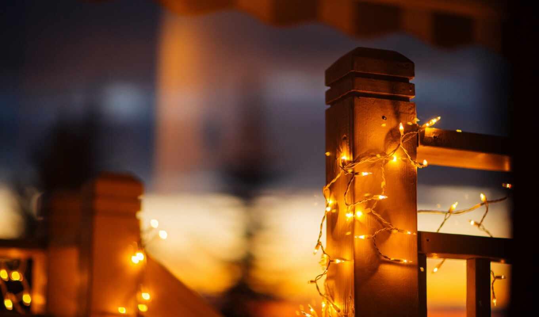 огни, свет, garland, фея, pantalla, lux, красавица, огонь, ночь