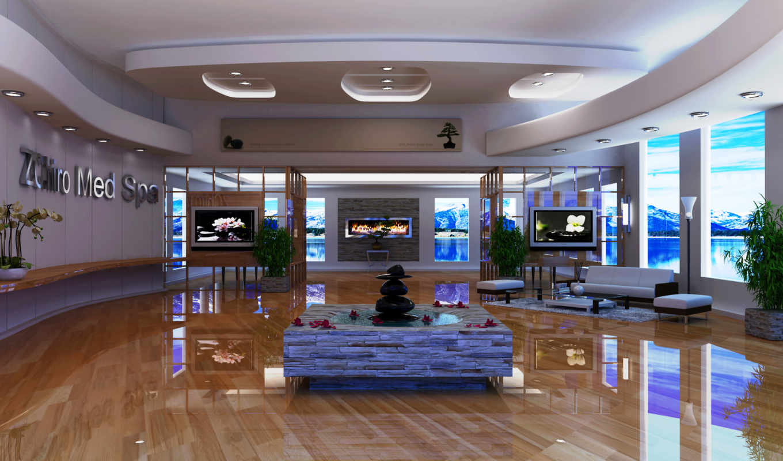 интерьер, камин, living, design, диван, tech, hai, тек,