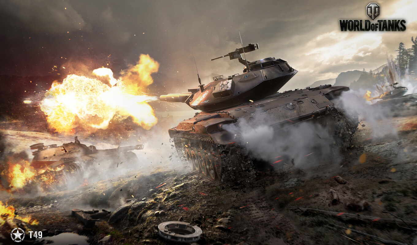 tanks, world, танки, игры, shot, t49, wot,