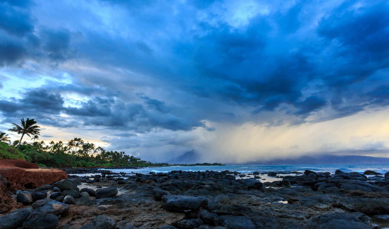 ocean, природа, hawaii, maui, Мауи, Гавайи, Тихий океан,