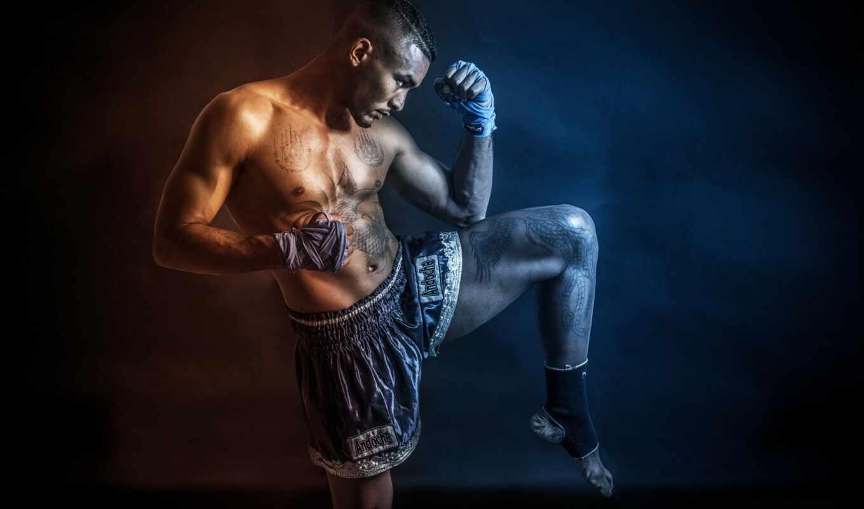 fond, boxe, thai, график, муай, melt, workout, club, sur, boxing, спорт