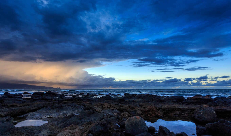 море, камень, супер