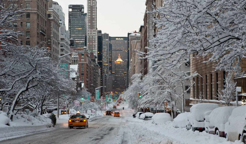 york, winter, city, usa, nyc,