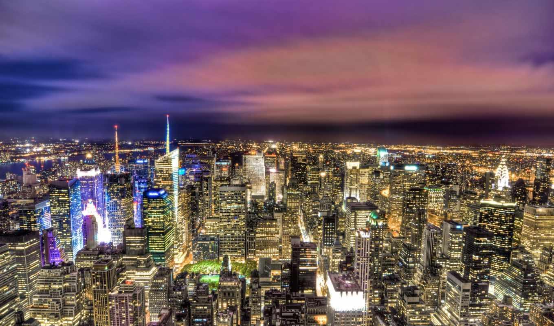 закат, free, photos, stock, сумерки, royalty, небоскребы, нью, огни, york,