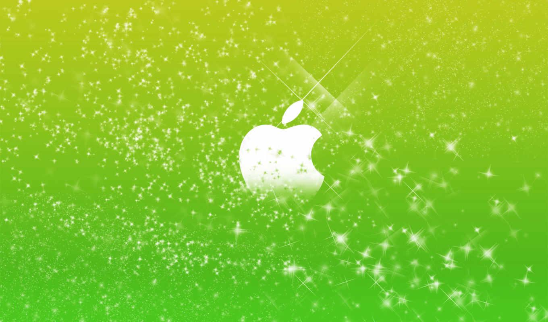зеленые, мишура, зелёный, windows, логотип, широкоформатные,