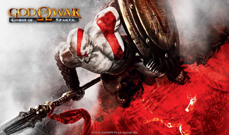 war, god, ghost, спарта, kratos, прохождение, игры, спарты,