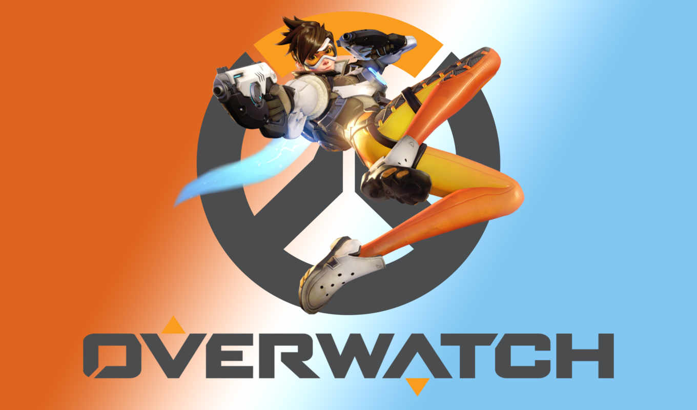 overwatch, logo, blizzard, free, tracer, вектор,