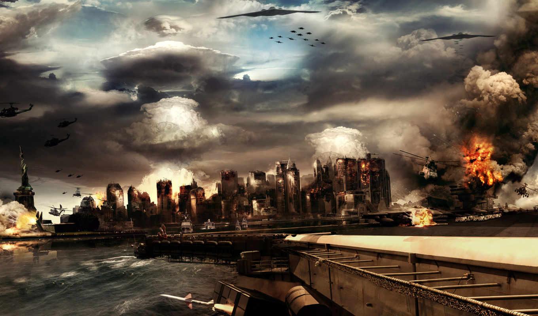 war, фантастика, страница, world, широкоформатные, игры, третья,