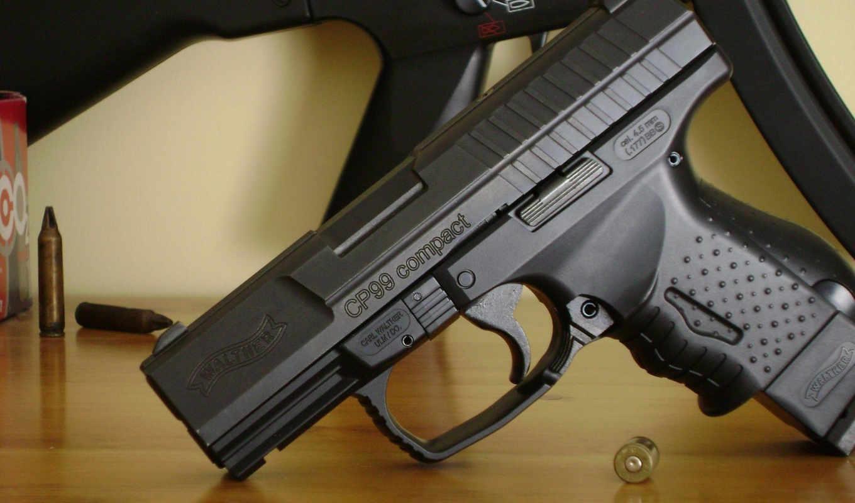 walther, cp99, compact, handgun, пистолет,