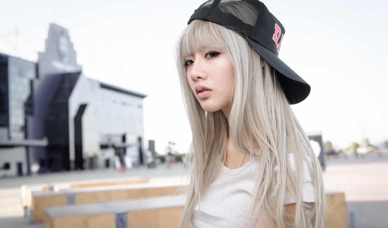 шапка, волосы, фон, женщина, asian, cut, long, hime