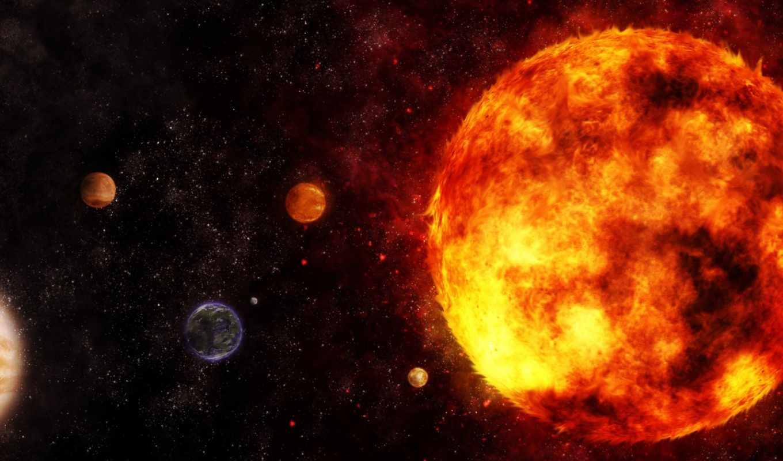 система, галактика, планеты, звезды, пространство, planets, desktop,