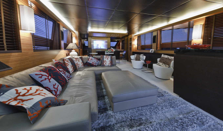 диван, great, комната, интерьер, угол, white, близко, потолком, под, темным, design,