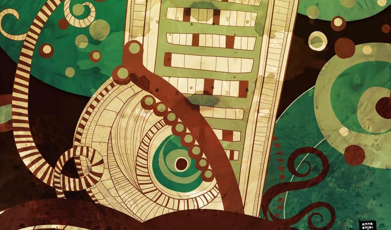 abstrakciya, дек, kreativ, art, you, креативные, рисунки, photoshop,