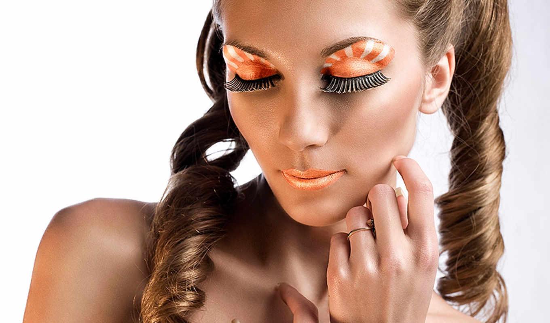 макияж, unusual, глаз, визаж,