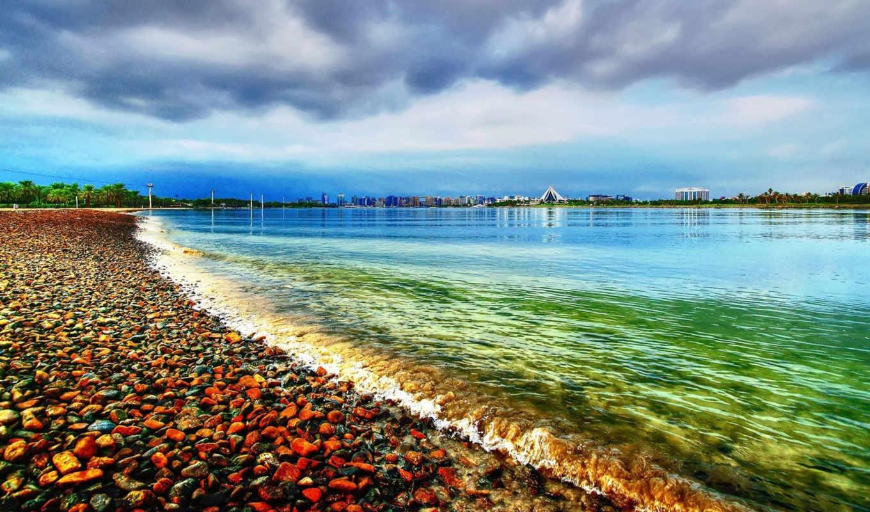 красивые, пляж, пейзажи -, desktop,