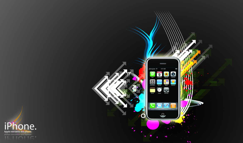 iphone, стиль, вектор, fonds, timeline,