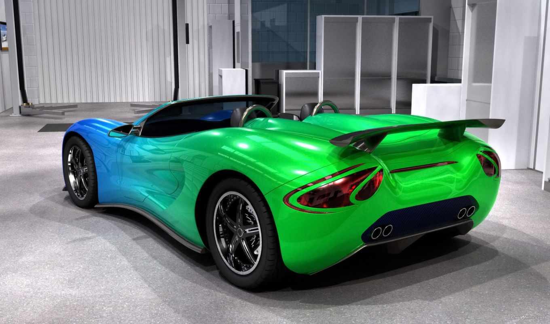 color, машины, зелёный, машина, суперкары,