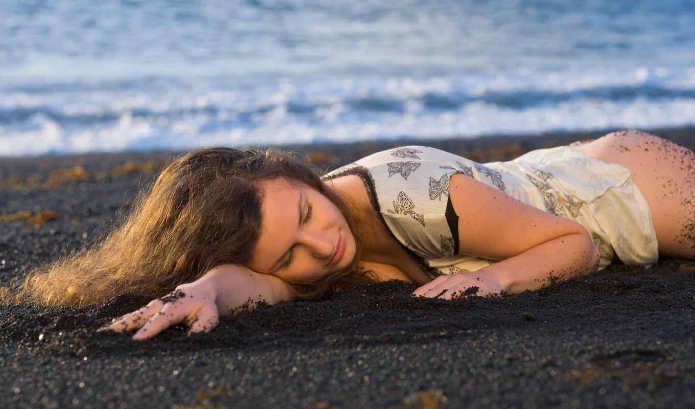 пляж, девушка, кудри, шатенка, susann, картинку, кнопкой, правой, ней, выберите, мыши, картинка, девушки, save, скачивания,