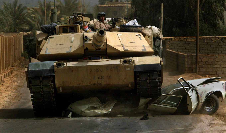 танк, абрамс, солдат