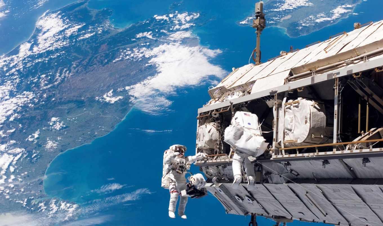 space, astronauts, космонавты, earth, мкс,