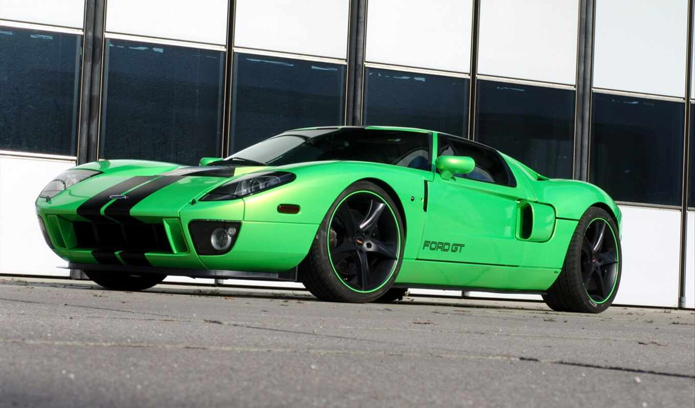 ford, geiger, geigercars, car, green, green, авто, автомобили,