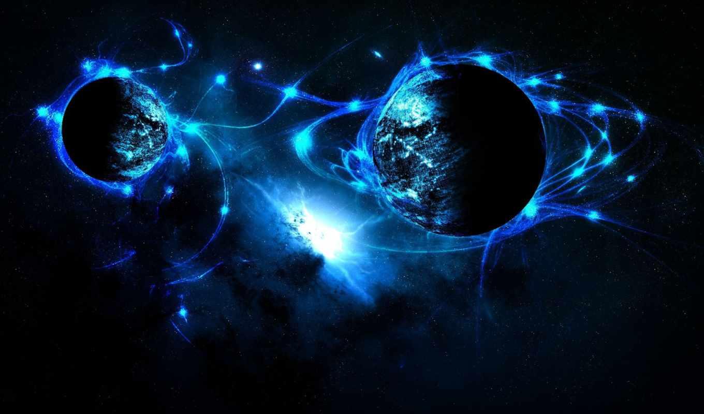 космос, широкоформатные,