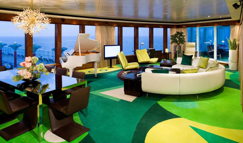 лайнер, каюты, компании, norwegian, февр, класса, самых, номера, похожи, больше, планеты, premium, cruise, отелей, дорогих, эти,