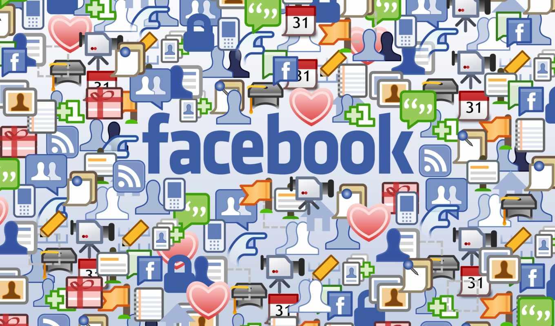 facebook, para, самых,