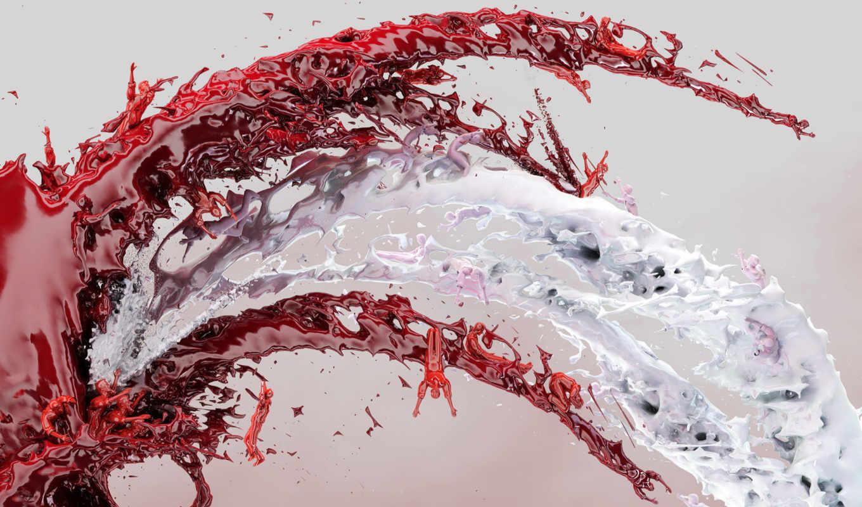 splash, abstract, волна, брызг, color, paint, брызги, graphics, liquid,