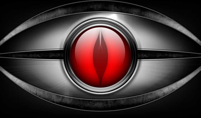 глаз, дизайн, металл, красный, eyes,
