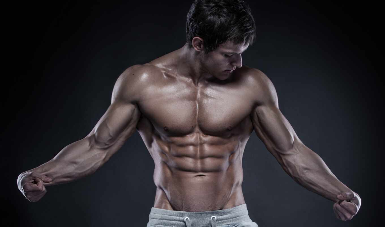 muscle, мужчина, рисунок, мужской